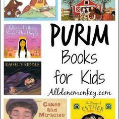 Purim Books for Kids