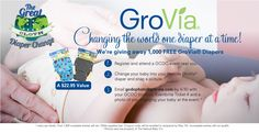 @GroVia is giving away 1000 diapers for free if you change your baby into a GroVia diaper during the Great Cloth Diaper Change (GCDC2012)