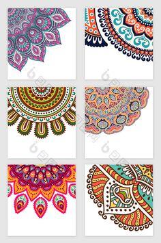 Mandala Art Lesson, Mandala Artwork, Mandala Drawing, Mandala Painting, Dot Painting, Mandala Pattern, Mandala Design, Simple Wall Paintings, Graphics Vintage