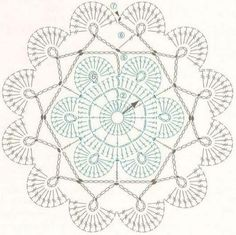 Angels Cradle: Crochet shell motif