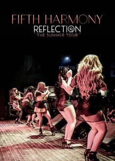 """""""Fifth Harmony's Reflection: The Summer Tour Announced ! Ally Brooke, Fith Harmony, X Factor, Get A Boyfriend, Second Season, You're Beautiful, Norman, American Girl, Camila Cabello"""