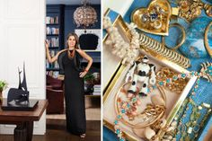 """Another woman who knew her way around decorating was, of course, Estée herself, who, in the 1940s, turned her vision for blue-packaged face crèmes that would sit prettily in any bathroom into a business expected to bring in more than $10 billion this year. Her granddaughter, who grew up dividing her time between New York City; Washington, DC; and Vienna, spent vacations in the perfectly turned-out world of old Palm Beach. """"Estée taught me to love experimenting with color,"""" says Lauder. """"One…"""
