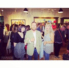Beautiful people at the Tommy Hilfiger launch party in Edinburgh. pic.twitter.com/EfLtM4WMuF
