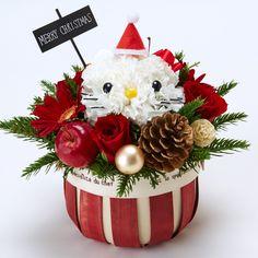 ハローキティ クリスマスフラワーアレンジメント サンリオオンラインショップ - 公式通販サイト