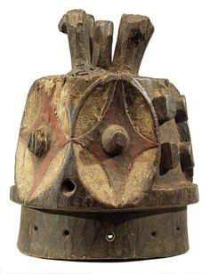 Bembe mask 35, Dem. Rep. of Congo