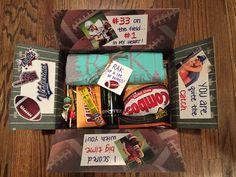 Football Player Goodie Bag Care Package Secret Cheerleader Theme