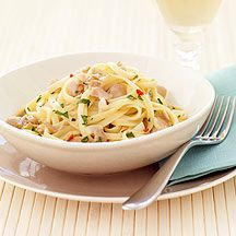 Linguini with White Wine Clam Sauce