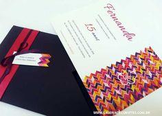 Convite de 15 anos Fernanda - Galeria de Convites
