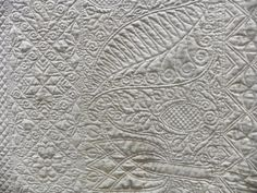 Detail of quilt by Andrea Stacke (posted to Flickr by C&T Publishing)