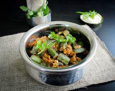 Bhindi Masala- Spicy Okra Curry | The Gastronomic BONG