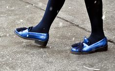 Trend for this seasson Fall 2013 pumps versus oxfords, Him vs She... New York.