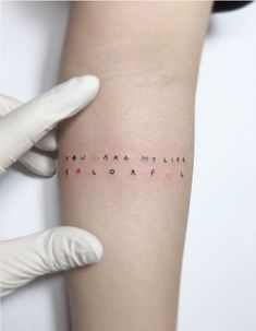 You make my life colorful by Playground Tattoo