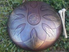 Custom made handpans by ShinySteelDrums on Etsy Drum Basics, Hand Drum, C Major, Eye For Detail, Paper Gifts, Just Giving, How To Relieve Stress, Drums, Celtic