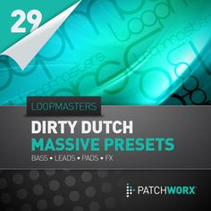 Loopmasters Present Dirty Dutch Massive Presets from Loopmasters