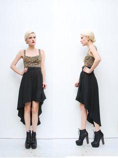 I just got a high low skirt very similar to this. High Low Skirt, High Waisted Skirt, Fishtail Skirt, Party Skirt, Asymmetrical Skirt, Draped Fabric, Playing Dress Up, A Line Skirts, Dress Skirt