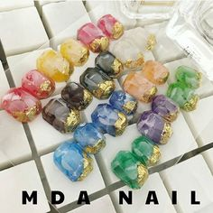 How gorgeous are these gems made by @m_d_a using PADICO Jewel Mold Minis with Jewel Colors?! 😍😍😍 Endless possibilities! Shop for the molds and colorants at DAILYCHARME.COM, link in profile💅🌈🌟👆 Nail Art Tools, Nail Art Diy, Gem Nails, Nail Gems, Jewel Colors, Pedi, Jewels, Instagram Posts, Minis