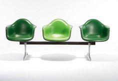 Herman Miller Eames Tandem Shell Seating