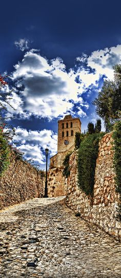 Dalt Vila, Ibiza, Spain (Photographer: Juan Pacheco Tirado)