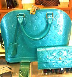 Louis Vuitton Blue Lagon Alma
