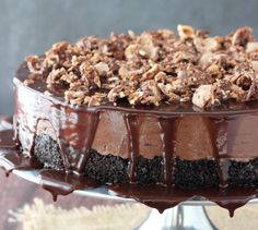 Nutella Cheesecake | 13 No-Bake Cheesecakes Every Lazy Girl Needs To Know About