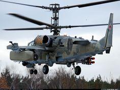Kamov Ka-50 Helicopter