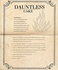 Dauntless Cake. You gotta be kidding me. I'm making this!