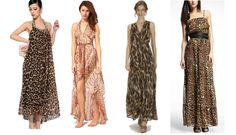When It Comes To Animal Print Chiffon Maxi Dresses, Plenty Of Designers Have Them In Colors & Designs That Are Sure To Please!