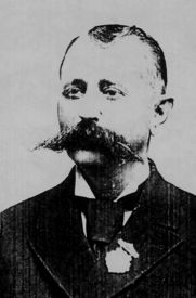 """Alexander Doniphan """"Donnie"""" Pence with the James-Younger Gang, was involved in their first robbery of the Clay County Savings Bank in Liberty, Missouri on February He fled to Kentucky. American History, Native American, Old West Outlaws, Old West Photos, Cowboys And Indians, American Frontier, Jesse James, Mountain Man, Wild West"""