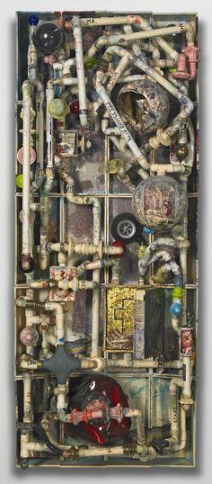 Bertozzi & Casoni - Composizione e Scomposizione, 2007  glazed ceramic  79 7/8 x 32 1/4 x 16 7/8 inches  203 x 82 x 43 cm