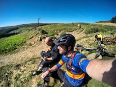 Taking a moment with Jono the views weren't half bad from up here. On our way to Stage 5.  #mtb #enduromtb #downhill #airdropbikes #edit #loam #instagood #instalike #photooftheday #instamovie #bike #gopro #goprophotography #goprooftheday #goprouniverse #gopronation #mountainbiking #strava #me #sports #maxxis #uk #joystickcomponents #rideyourbike #yorkshiredales #hamsterley #picoftheday #selfie #ardmoorsenduro