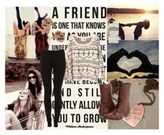 When it's you and me We don't need no one to tell us who to be We'll keep turning up the radio What if you and I Just put up a middle finger to the sky Let them know we're still rock 'n roll by fashionguru25 on Polyvore featuring polyvore fashion style Steve Madden Harrods clothing