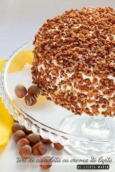 Romanian Desserts, Eat Pretty, Homemade Cakes, No Bake Cake, Cake Recipes, Bakery, Sweet Treats, Deserts, Good Food