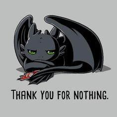 Thank You For Nothing