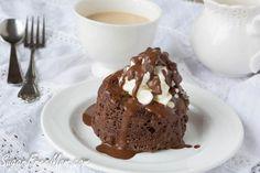 Sugar-Free Chocolate Mug Cake made in a Minute!
