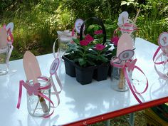 fairy garden princess birthday party. Possible activity for the kids