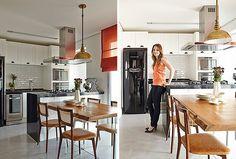 Planejado pela designer de interiores Helena Kallas, o imóvel tornou mais fácil à jornalista Priscila Dal Poggetto a saída do conforto da casa dos pais