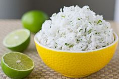 Chipotle-Stye Cilantro and Lime Rice