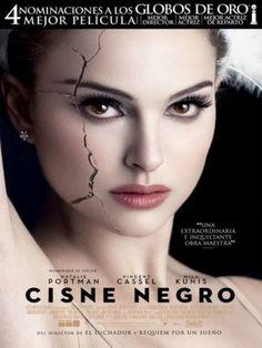 """Cisne negro"" narra la historia de Nina, una bailarina de una compañía de ballet…"