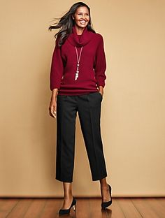 Talbots - Merino Cowlneck Sweater | | Misses Discover your new look at Talbots. Shop our Merino Cowlneck Sweater for stylish clothing and accessories with a modern twist at Talbots