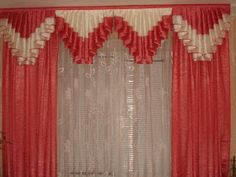 8 pieces of furniture and accessories for a tidy room! Curtains And Draperies, Elegant Curtains, Home Curtains, Hanging Curtains, Kitchen Curtains, Valances, Window Curtain Designs, Drapery Designs, Curtain Patterns