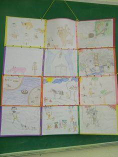 greek mythology projects - Story quilt
