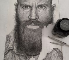 Realistic Drawings by Monica Lee