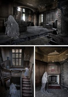Urban Explorer Creates Ghostly Images in Abandoned Buildings | Urban Ghosts |