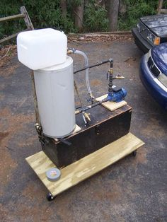 How To Build Gravity Drip Feed Waste Oil Heater Burner