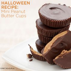 Mini Peanut Butter Cups In A Jar Recipe — Dishmaps