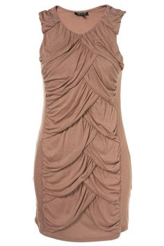 TOPSHOP Ladies Fitted Bodycon Grecian Front Tunic Dress Top