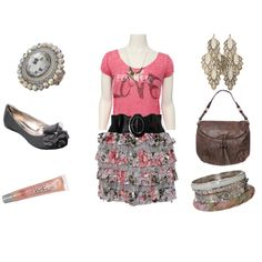 All from rue21!! Wish i could pull an outfit like this off:)