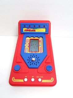 Vtech Talking Handheld Electronic Pinball Wizard 1988 by TimelessToyBox on Etsy