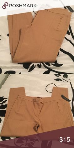 Alice Hope pants NWT.  Nude colored stretchy pants. Alice Hope Pants Ankle & Cropped