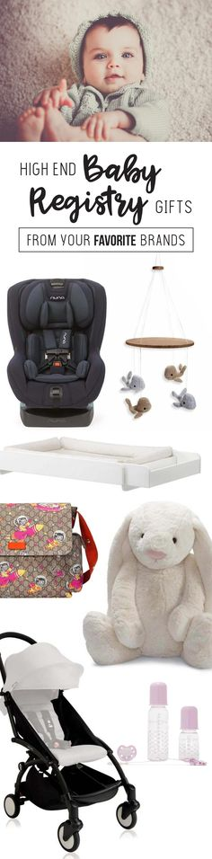 High End Baby Registry Gifts From Your Favorite Brands